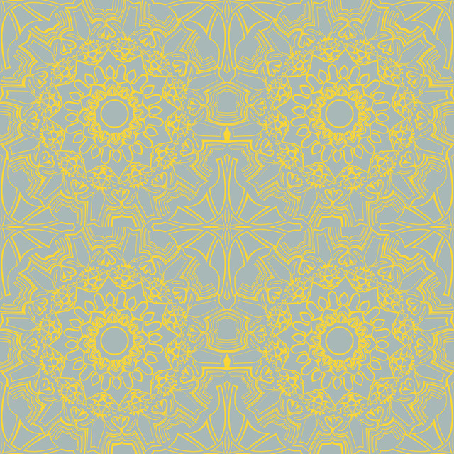 Removable Wallpaper Sunrise 205x11 Yds   Contemporary   Wallpaper 640x640