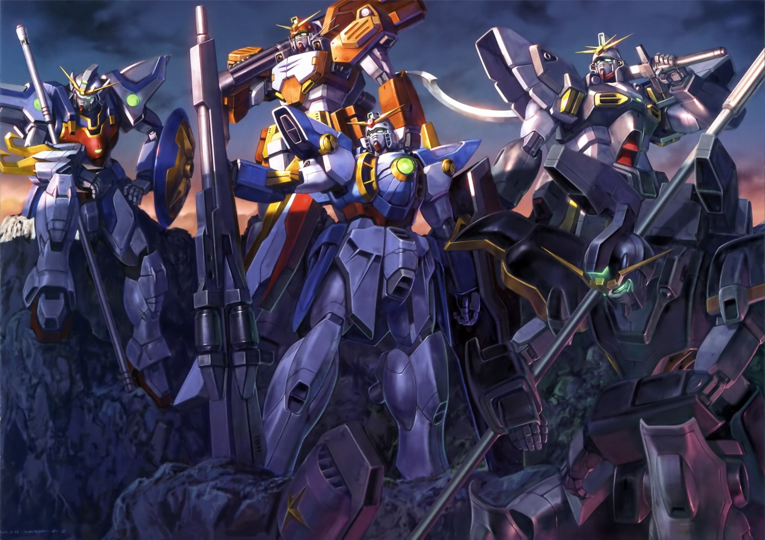 Gundam Deathscythe Wallpapers For Android at Movies Monodomo 1500x1059