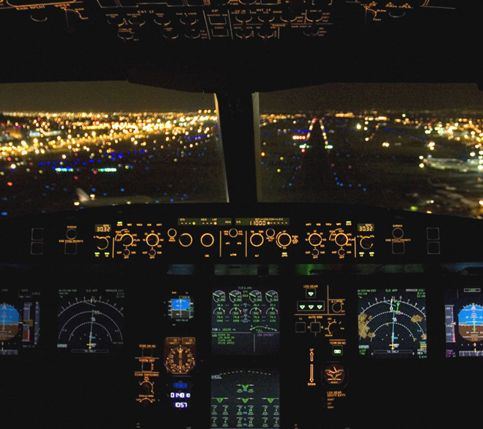 Airplane Cockpit Wallpaper