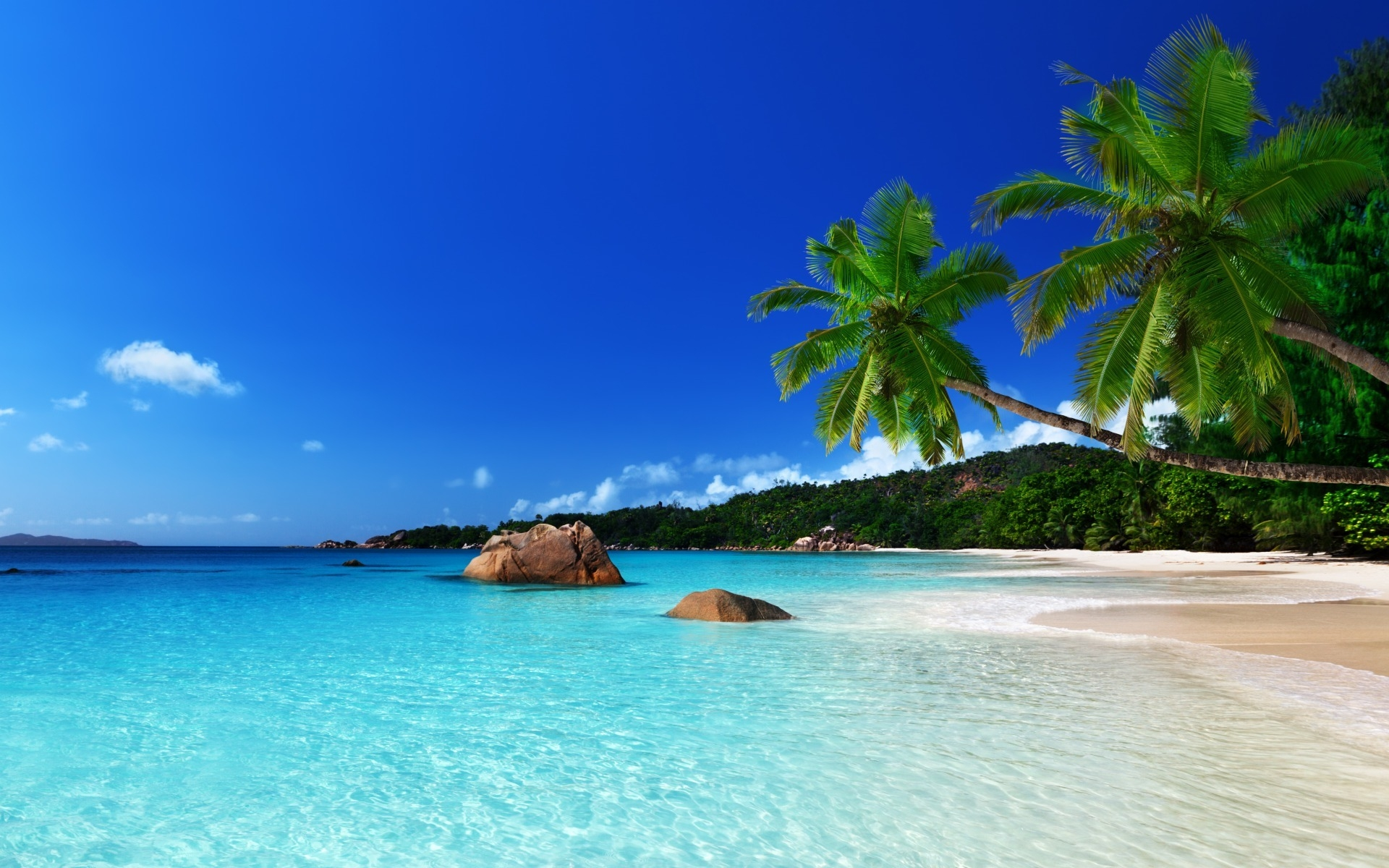 Wallpapersafari: Tropical Island Wallpaper