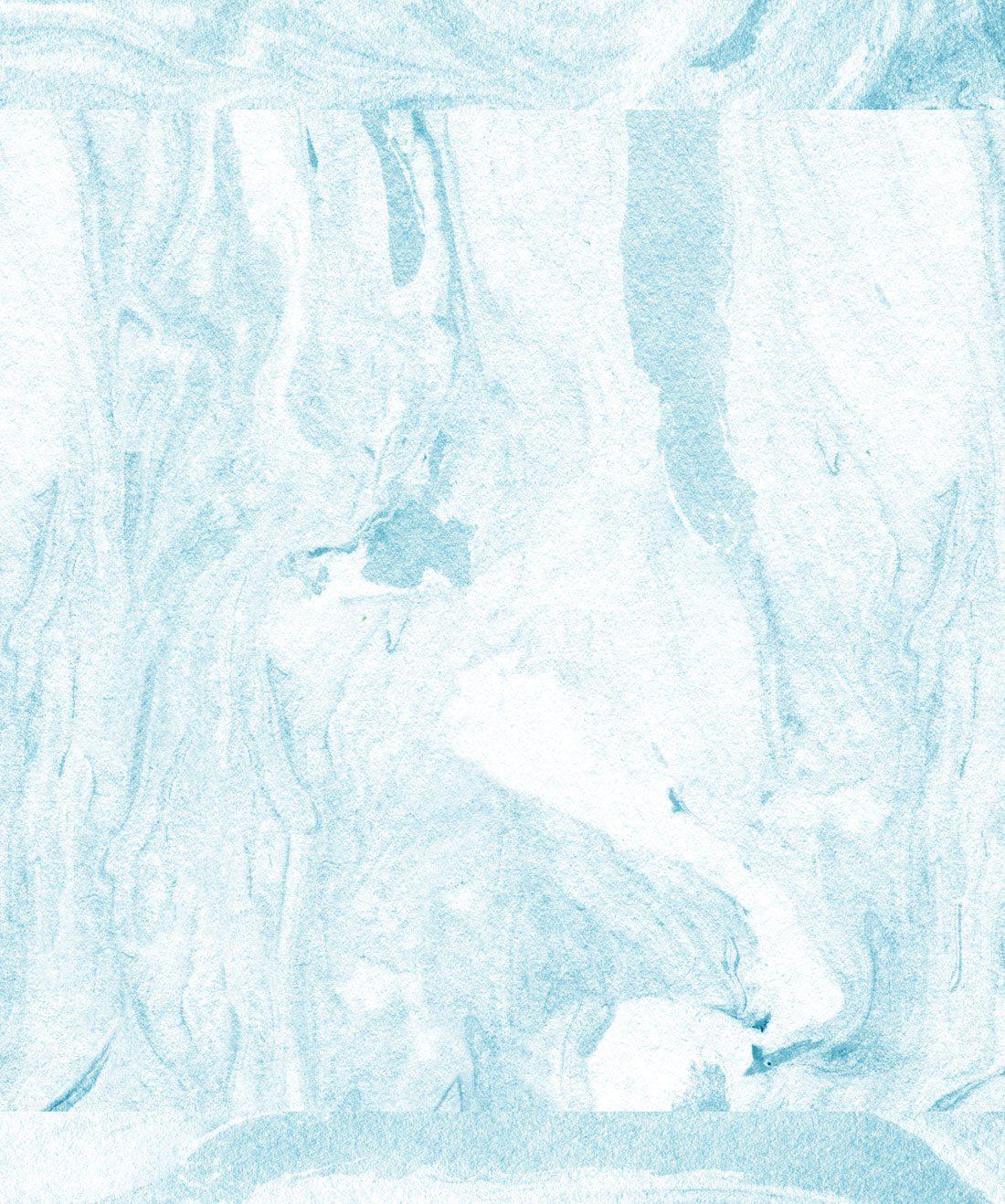 Shoreline Blue Marble like Wallpaper Milton King 1100x1318