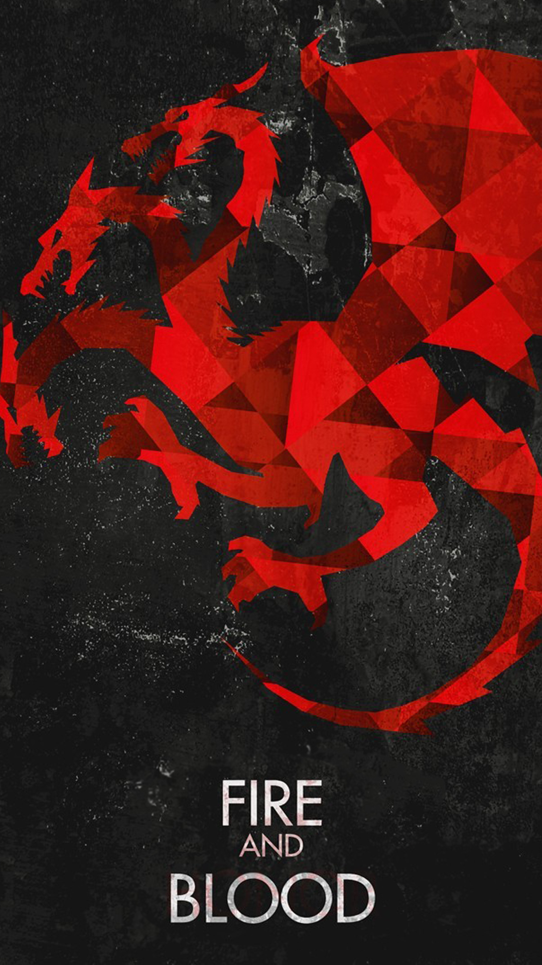 And Blood Game Of Thrones House Targaryen Dragons Android Wallpaper 1080x1920