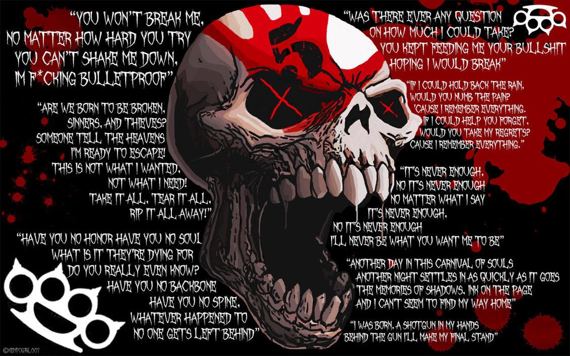 1131x707px Wallpaper Five Finger Death Punch Wallpapersafari