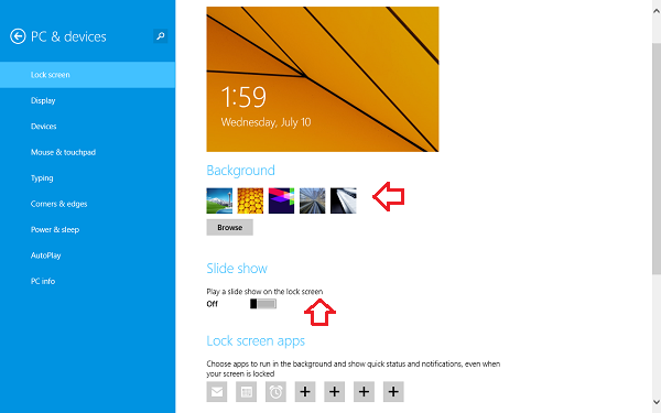Free Download Windows 81 Lock Screen Slideshow Feature