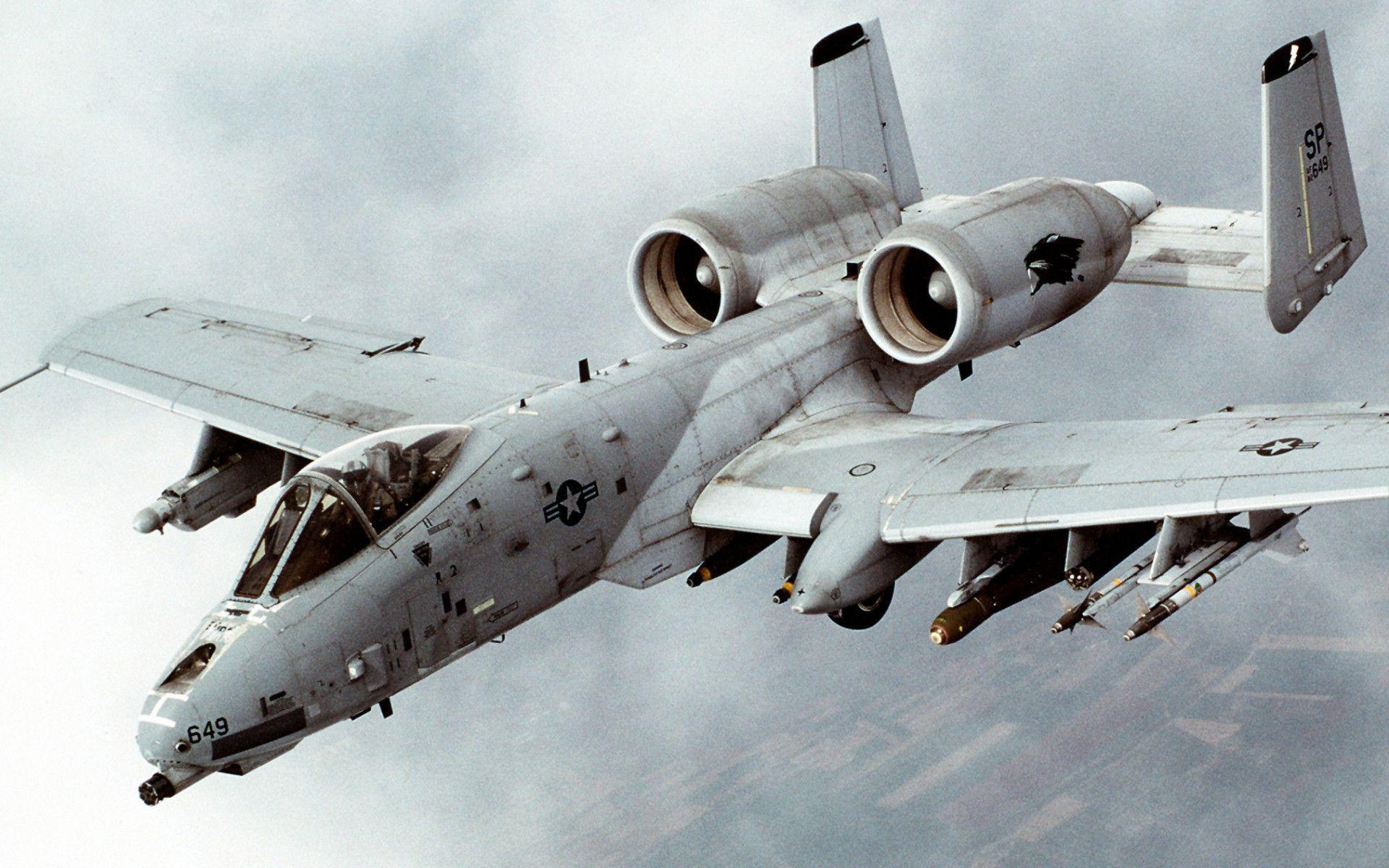 Fairchild Republic A 10 Thunderbolt II Wallpapers 1920x1200