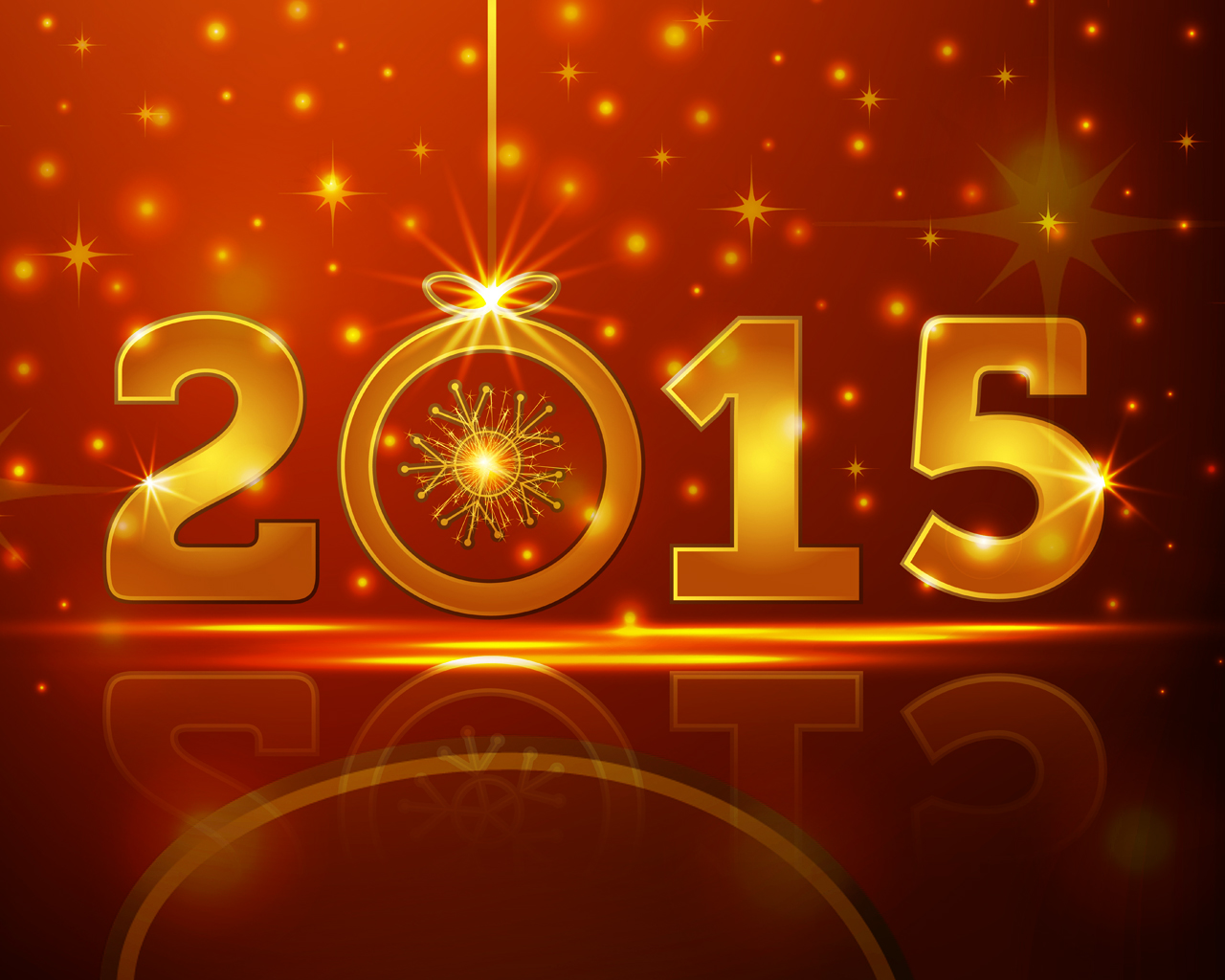 2015 Happy New Year Celebrations PPT Backgrounds for your 1280x1024