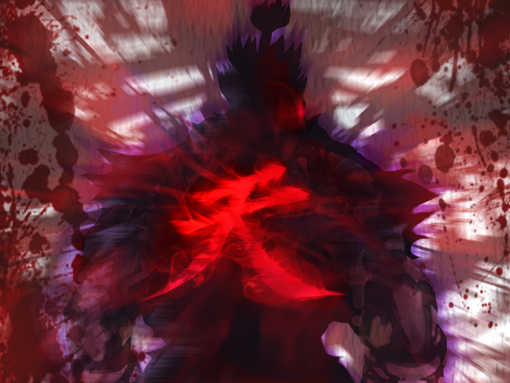 Akuma wallpaper hd wallpapersafari - Raging demon symbol ...