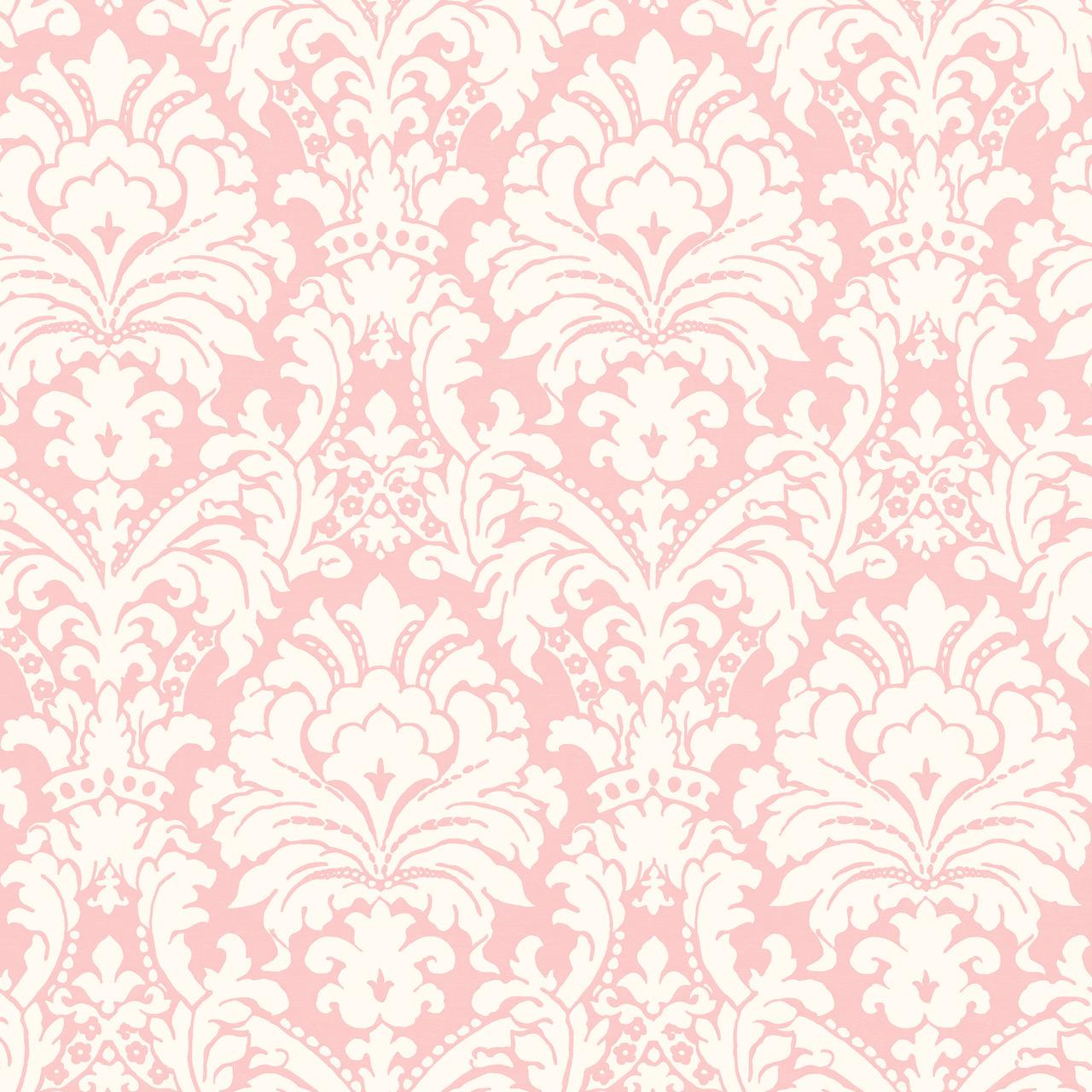 Pink Damask Wallpaper   Widescreen HD Wallpapers 1280x1280