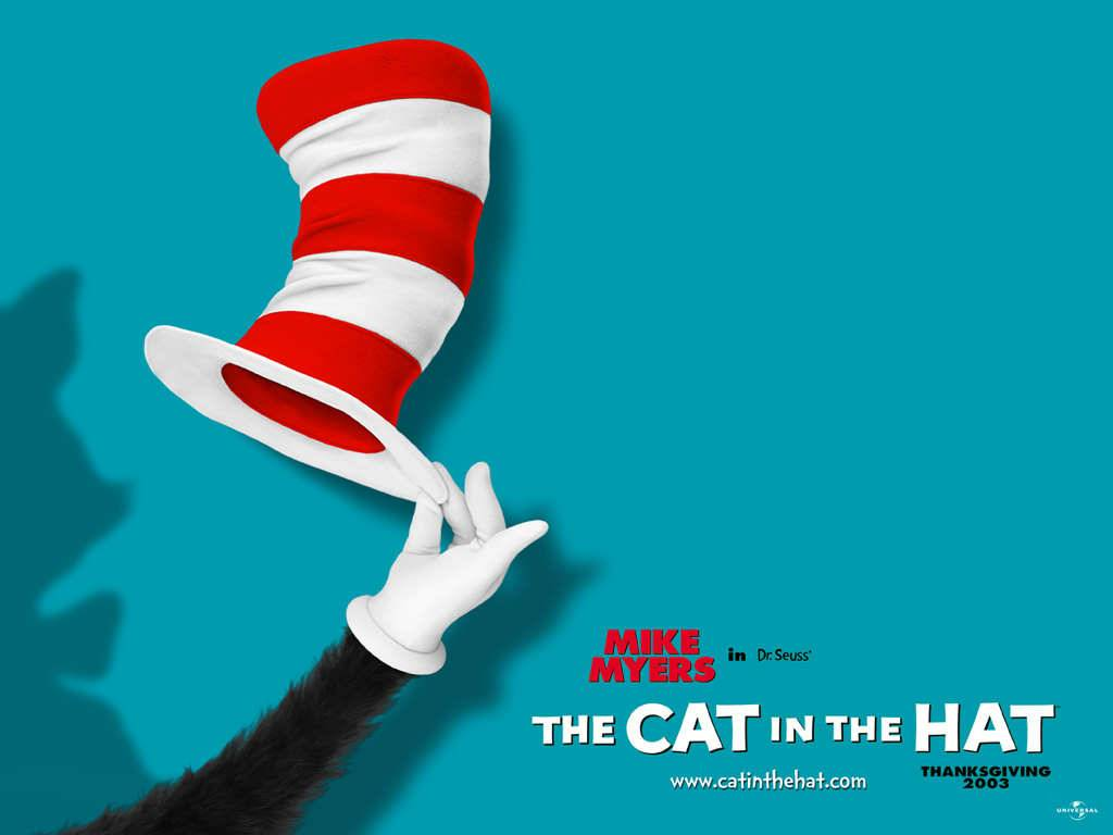 The Cat in the Hat Movie Poster Wallpaper   Comedy Movies 1024x768