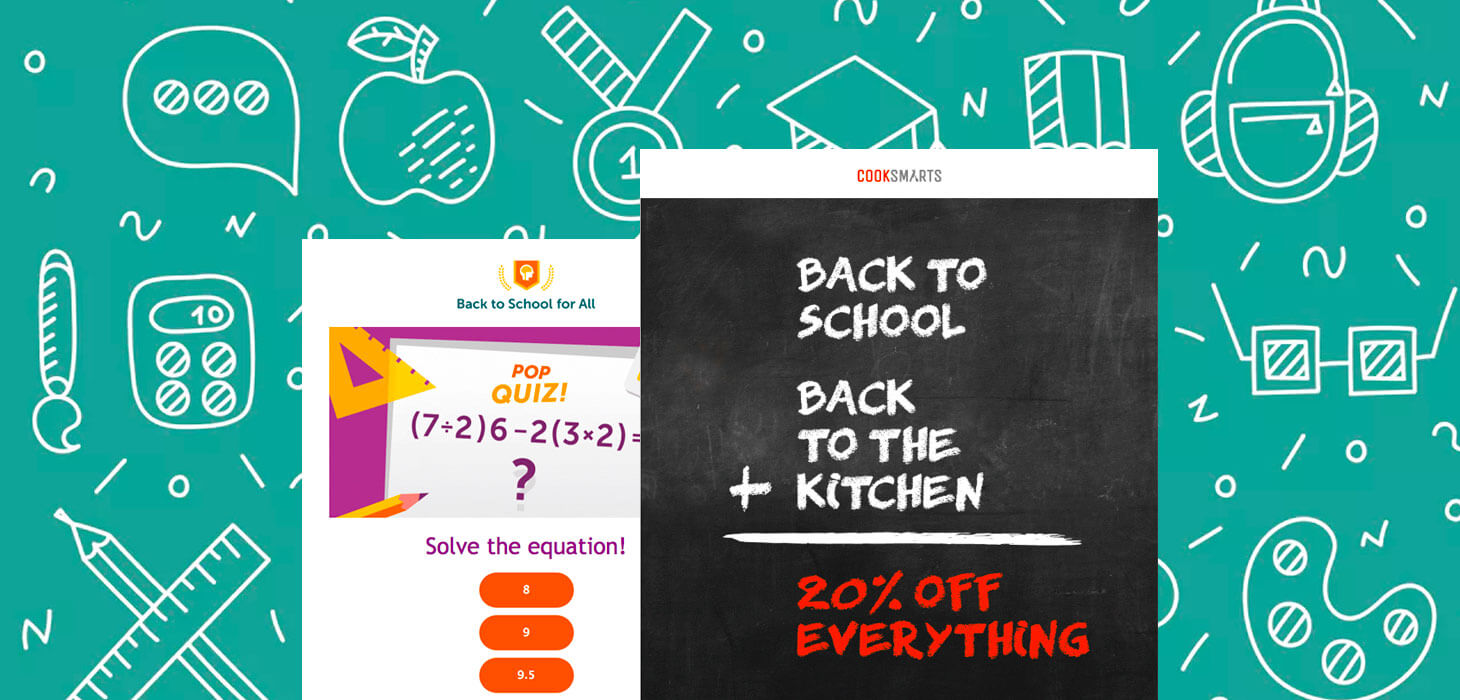 10 Back to School Sales Emails at the Top of Their Class   Email 1460x700