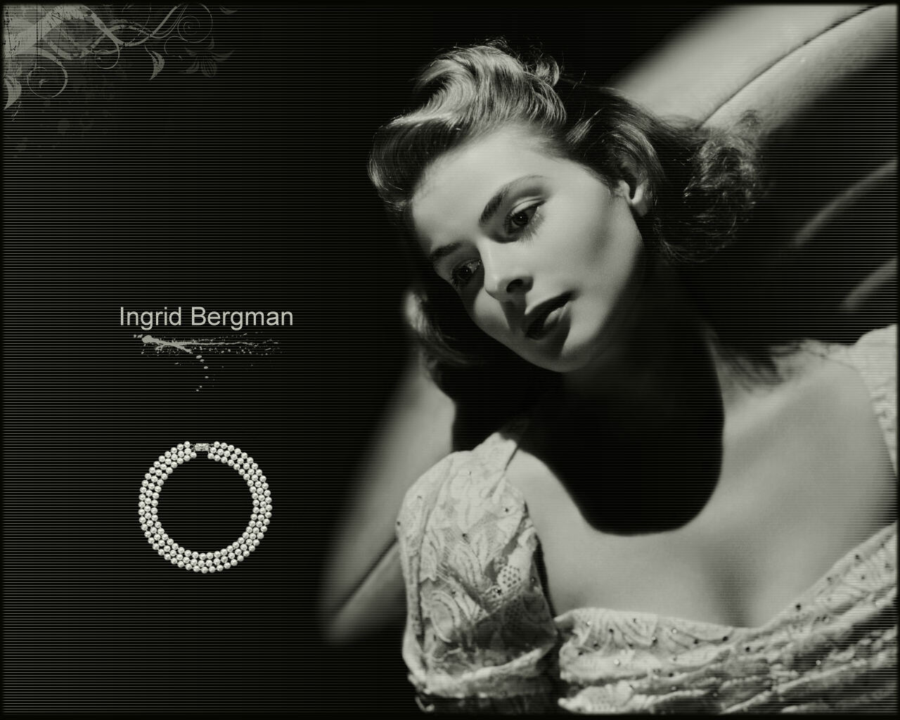 Ingrid Bergman Photo studio Pinterest 1280x1024