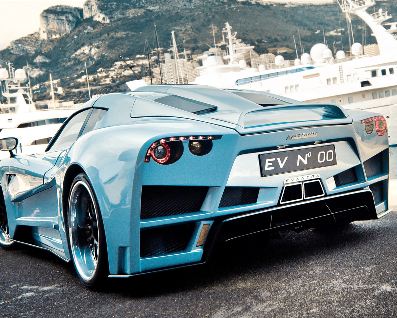 Mazzanti Evantra V8 Supercar HD Wallpaper 16 Current Size 1280 x 1024 1280x1024