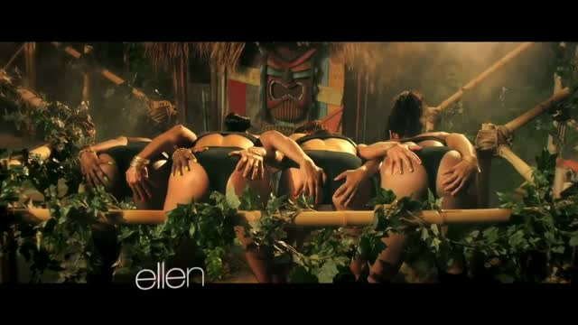 Ellen Degeneres Spoofs Nicki Minaj Anaconda Video   Rap Basement 640x360