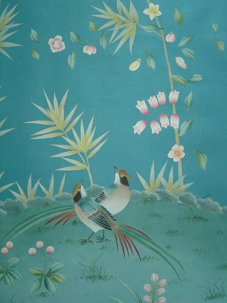 chinese wallpaper chinoiserie wallpaper silk wallpaper hand 450x600