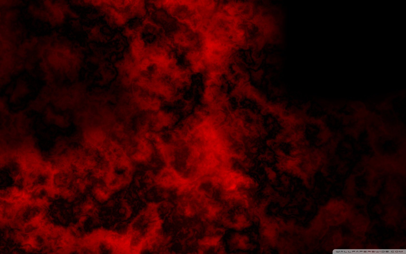 Red Black Cloud Abstract Wallpaper Wallpapers Style 1680x1050