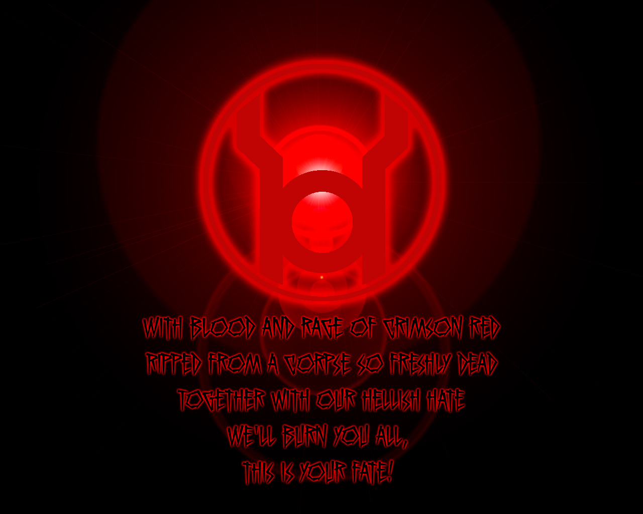 Red lantern corps symbol wallpaper - photo#23