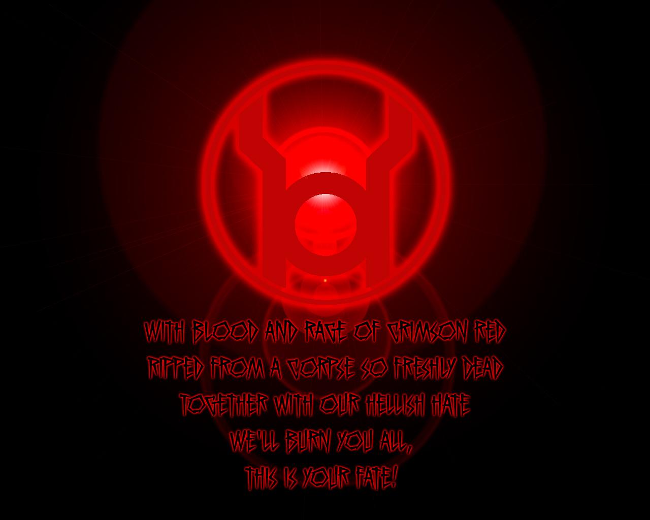 DC Comics Wallpaper 1280x1024 DC Comics Red Lantern Corps 1280x1024