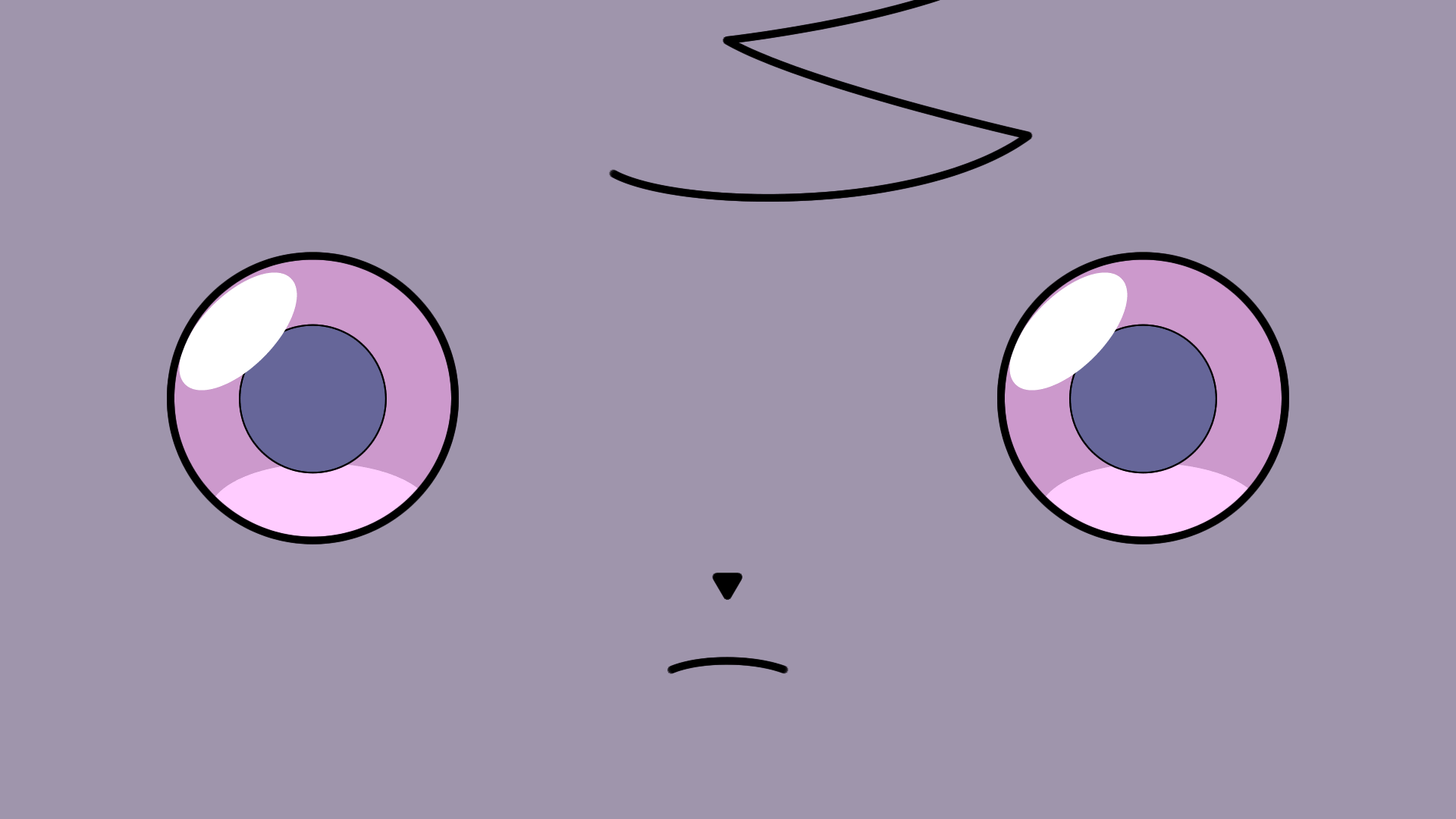 put the Espurr wallpaper on my dual monitor setup pokemon 1920x1080