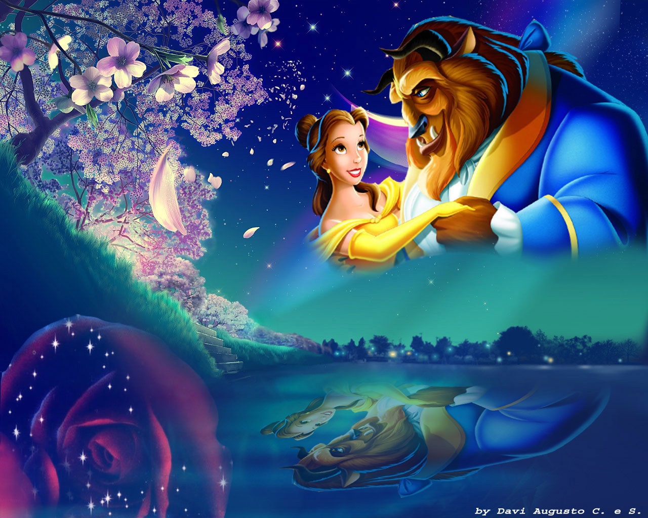 Free Download Beauty The Beast Disney Princess Wallpaper 33799178