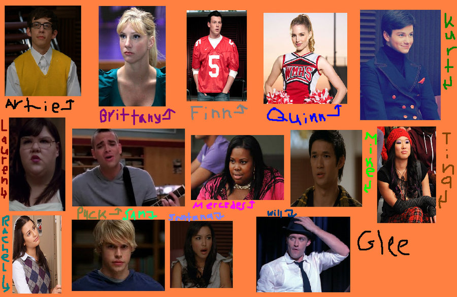 Glee Desktop Background by doctordegrassi 900x585