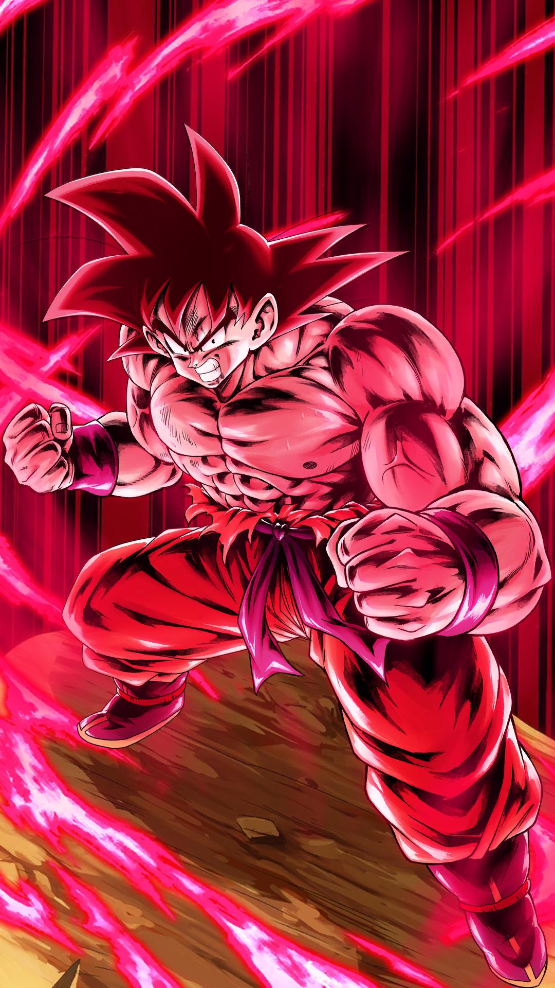 Goku Kaioken Wallpapers   Top Goku Kaioken Backgrounds 1080x1920