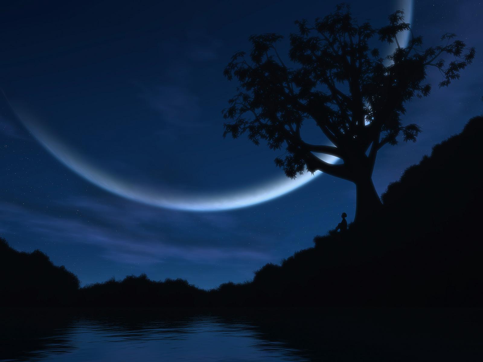 Night Wallpaper Night HD Wallpaper 1 1600x1200