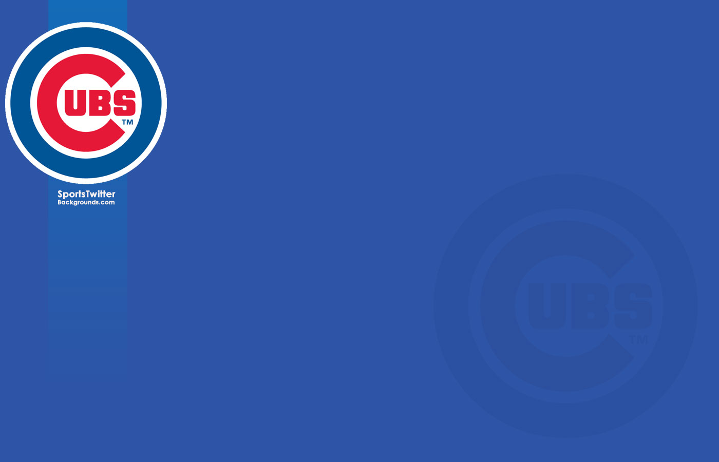 Enjoy this new Chicago Cubs desktop background 1400x900