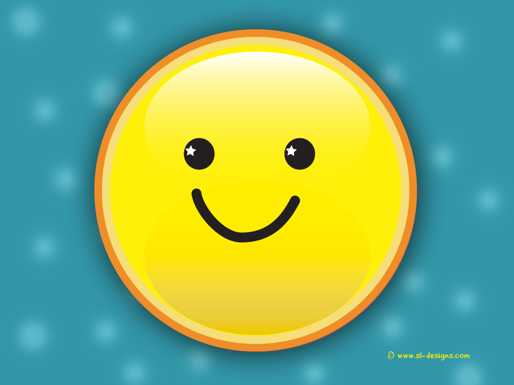 Smiley Wallpaper   KEEP SMILING Wallpaper 7751331 1024x768