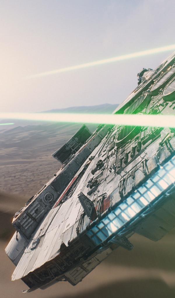 600x1024 Star Wars The Force Awakens Galaxy tab 2 wallpaper 600x1024