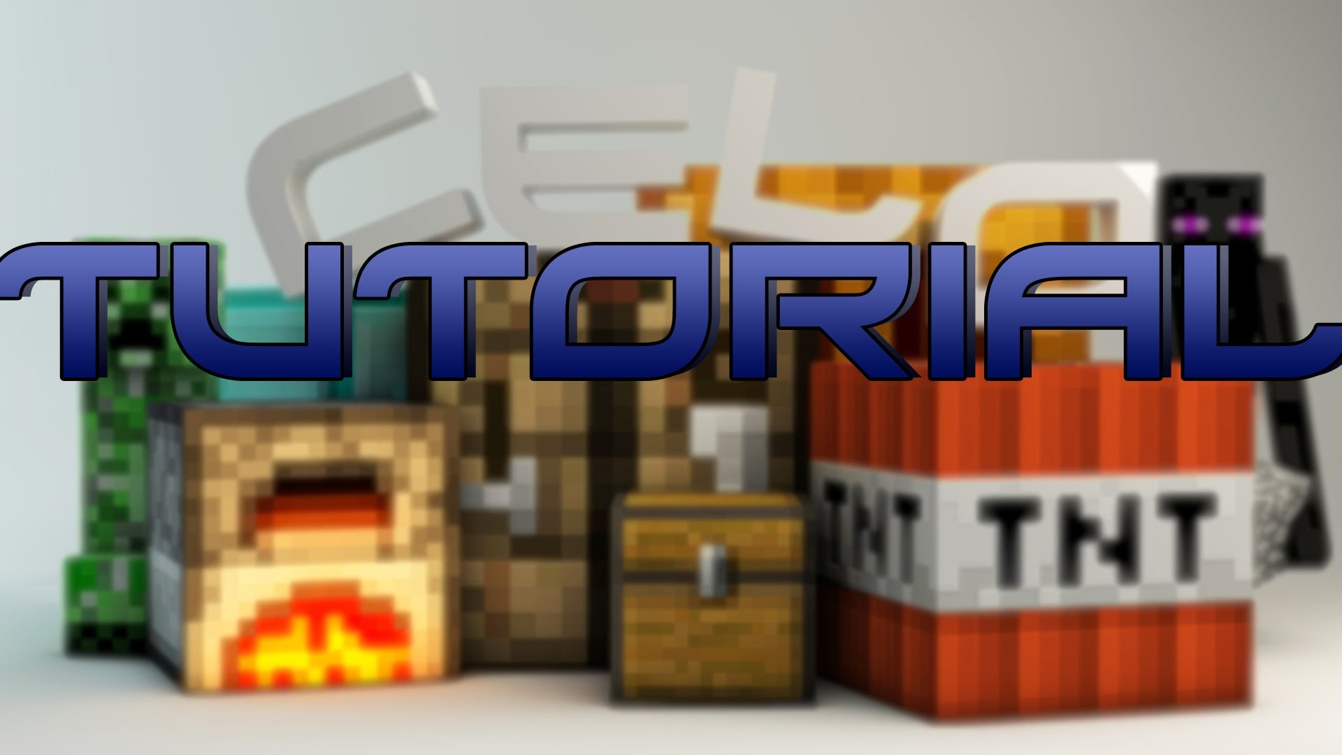 How to Create the Minecraft Wallpaper Part 1 1920x1080