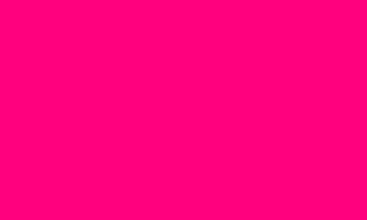 1280x768 resolution Bright Pink solid color background view and 1280x768