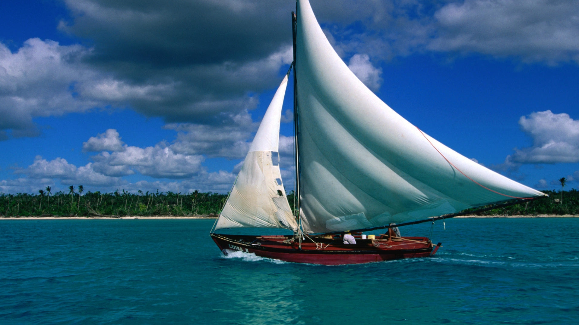 1920x1080 Sailing ship desktop PC and Mac wallpaper 1920x1080