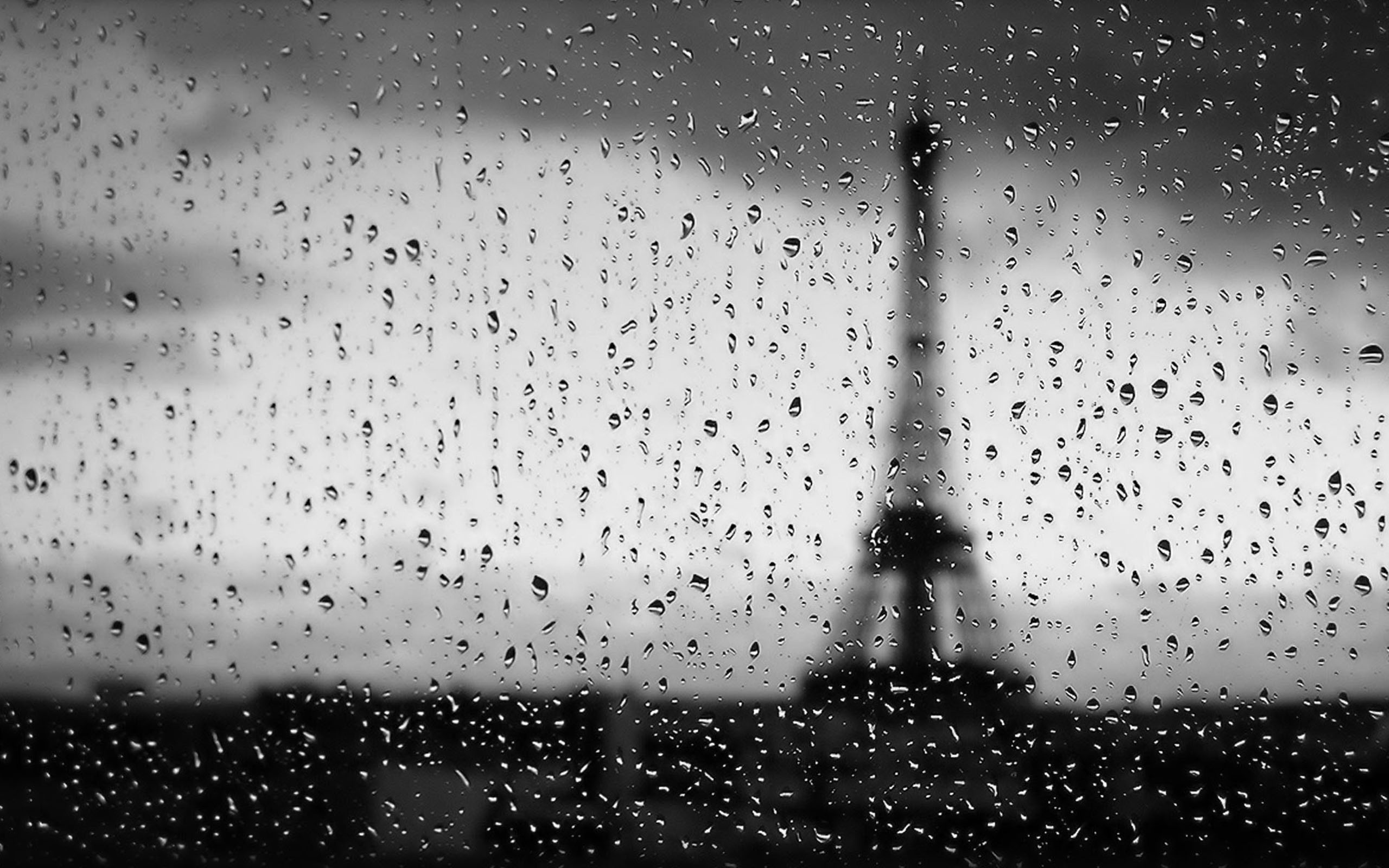 Rainy Day In Paris HD Wallpapers Widescreen 2560x1600