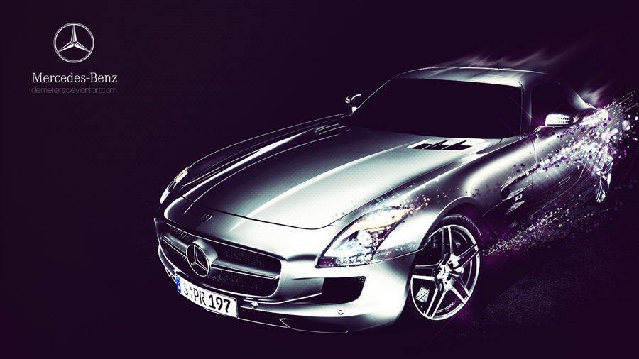 Mercedes Benz SLS AMG Wallpaper Pack by demeters 900x506