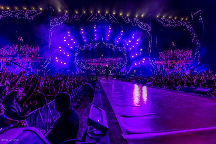 Clay Paky insieme ai Rolling Stones per lo Zip Code Tour   Photo 720x480