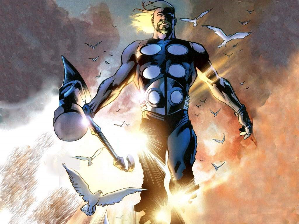 Ultimates Thor vs Thanos   Battles   Comic Vine 1024x768