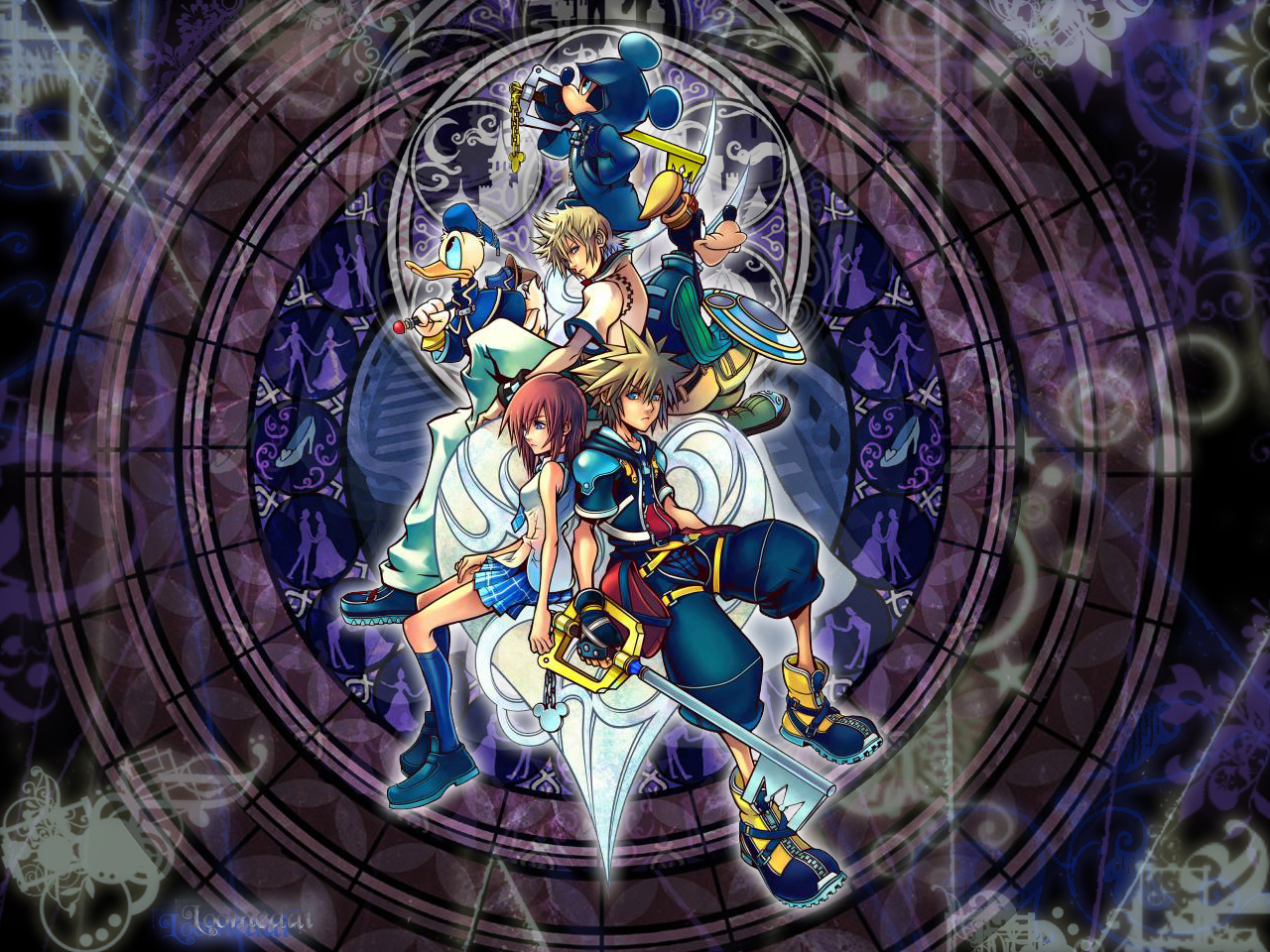 Kingdom Hearts background Wallpapers WIN10 THEMES 1280x960