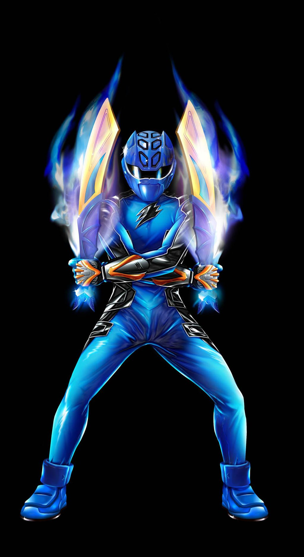 Free Download 1024x1878px Power Rangers Jungle Fury Wallpaper