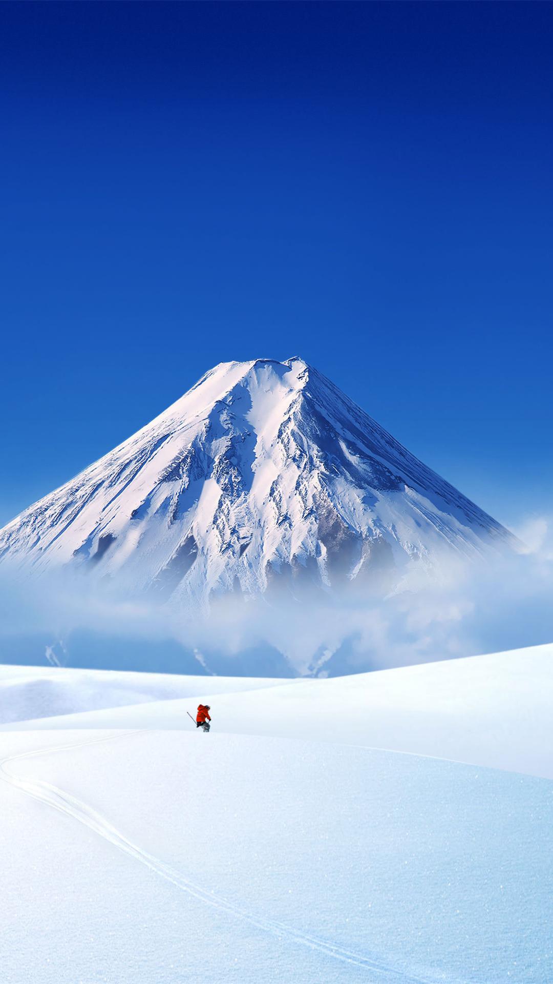 Snow Landscape iphone 6 wallpaper ilikewallpaper com 1080x1920