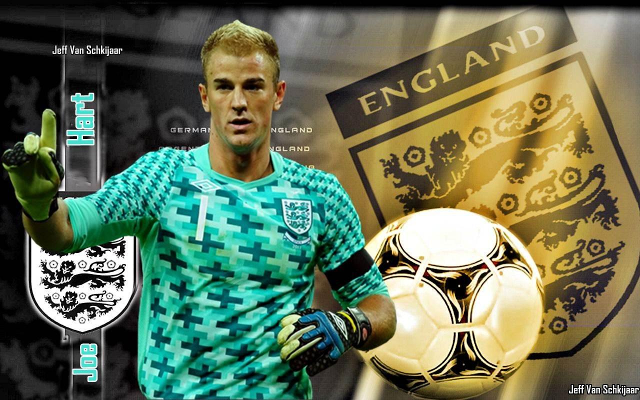 Joe Hart England Euro 2012 HD Wallpaper For Desktop 1280x800