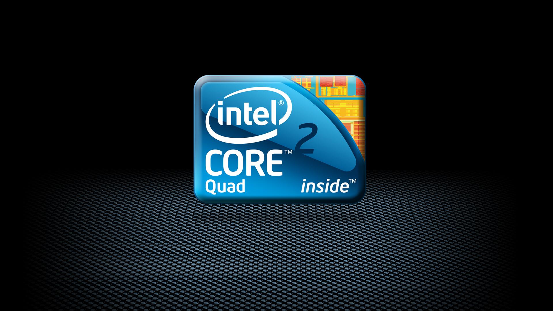 Intel Core 2 Quad Logo wallpaper   140277 1920x1080