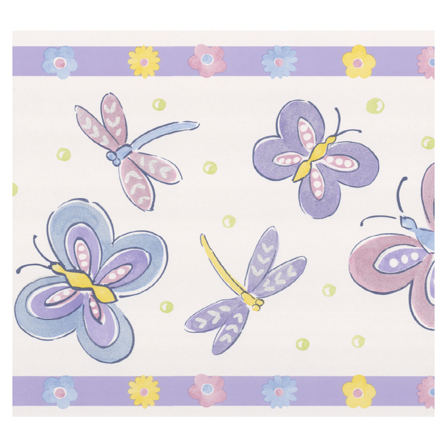 comShop Brewster Wallcovering Dragonflies and Butterfly Wallpaper 900x900