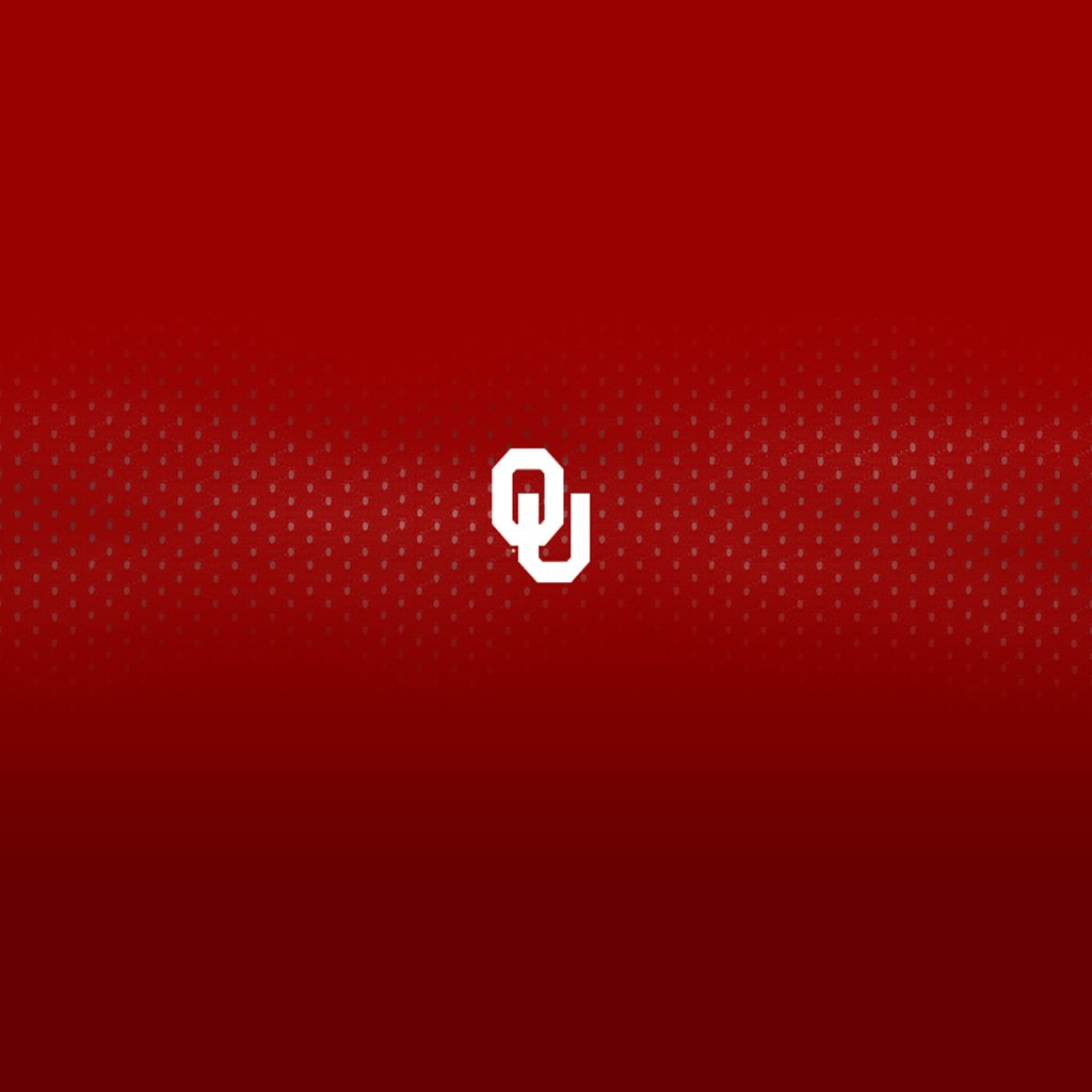Oklahoma Sooners iPad Wallpaper Collection Sports Geekery 1024x1024