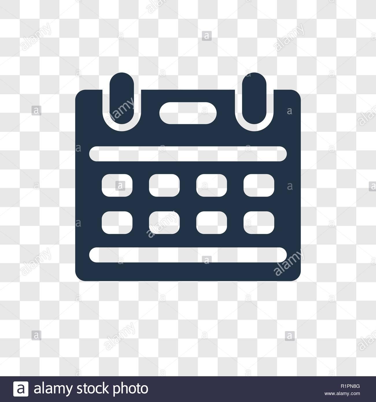 Calendar vector icon isolated on transparent background Calendar 1300x1389