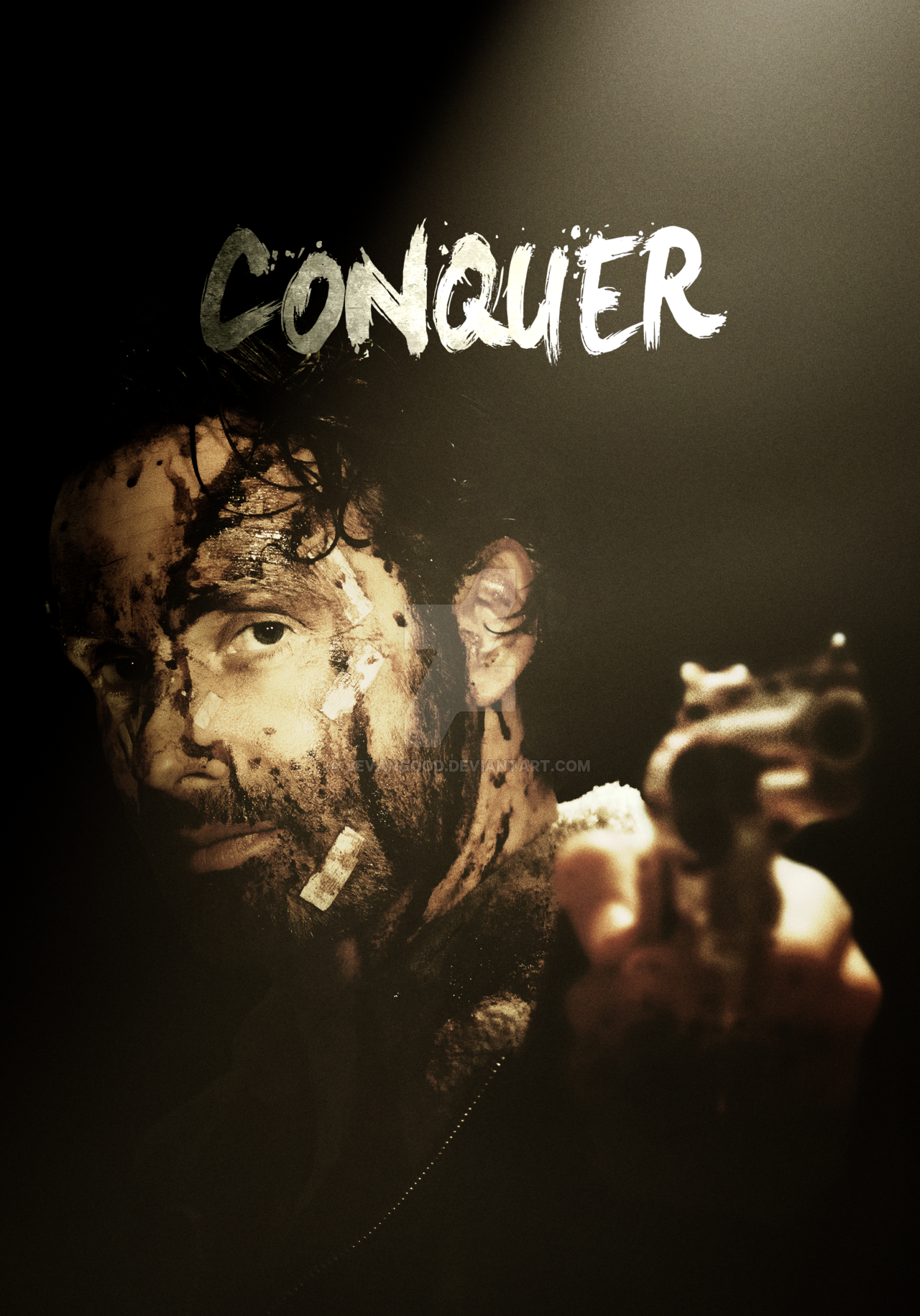 Free Download The Walking Dead Season 6 Conquer Poster By