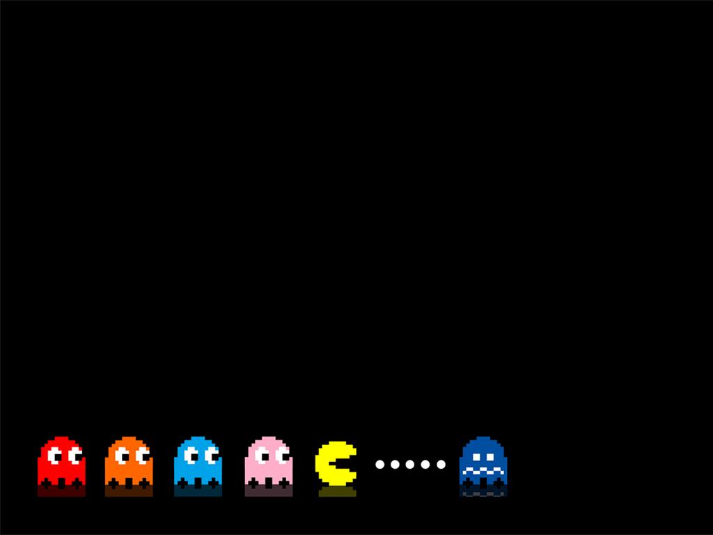 8Bit Pacman Wallpaper by dAKirby309 1024x768