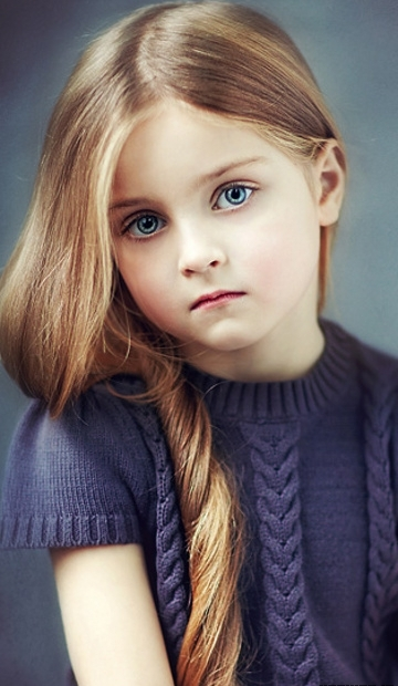 FunMozar Cute Baby Girl Wallpapers For Mobile 360x620