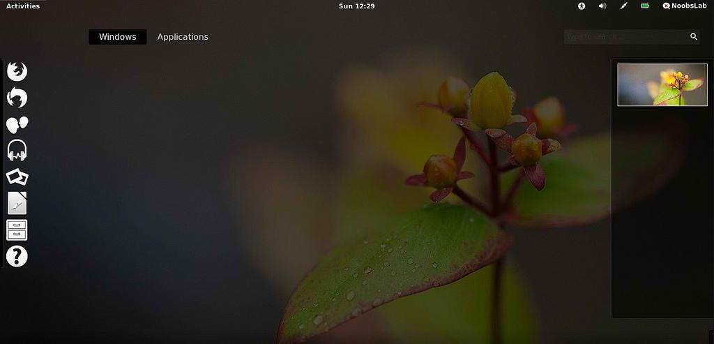 eOS theme on UbuntuLinux Mint Gnome Shell   NoobsLab Ubuntu 1024x493