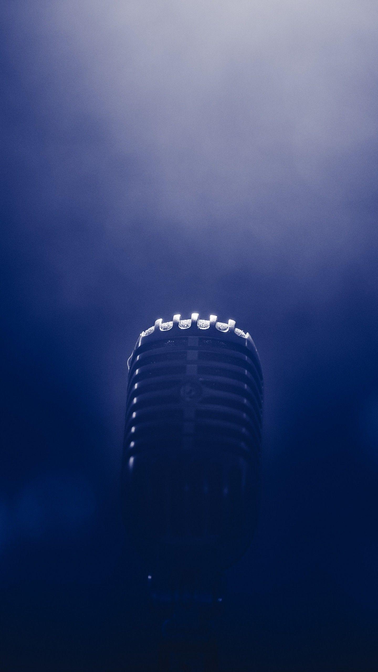 Microphone Smoke Blackout Wallpaper   [1440x2560] Smoke 1440x2560