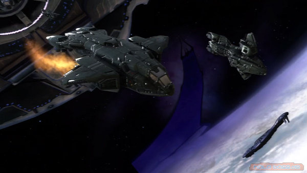 Halo Space Battle Wallpaper Images Pictures   Becuo 600x338